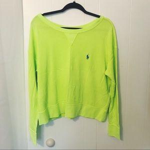 Polo Ralph Lauren Wide Neck Sweatshirt